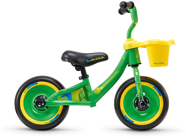 "s'cool pedeX 3in1 10"" Børn, green/yellow"
